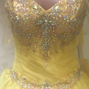 Beauty and the Beast Belle Quince Dress 6